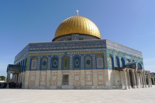 The Dome of the Rock –part of the Al -Asqa Mosque Compound. Photo/EAPPI.N.Oom