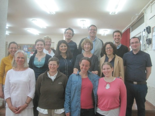 UKI EAs meet with Leo Baeck Synagogue members, Haifa. EA Hughes