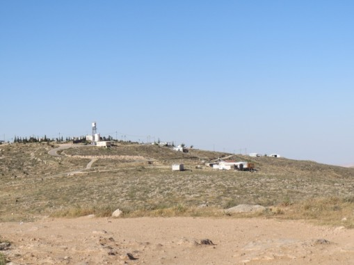 The illegal outpost of Mitzpe Yair [Photo: EAPPI/T.Mansbridge]