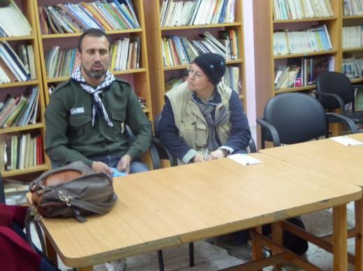 Ahmed Titi, Scout Leader Al Fawwar Scout Group