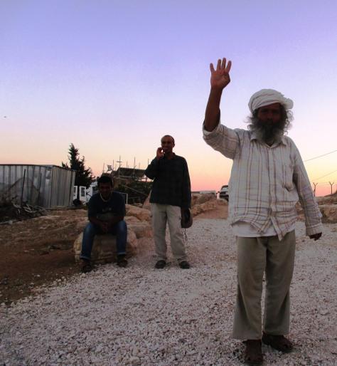 Sumud – Tariq, Eid and Suleiman. EAPPI/A.Davison