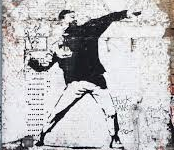 Banksy installation, Beit Jala