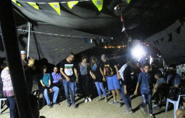 Party time at Susiya. Photo: EAPPI/A.Davison