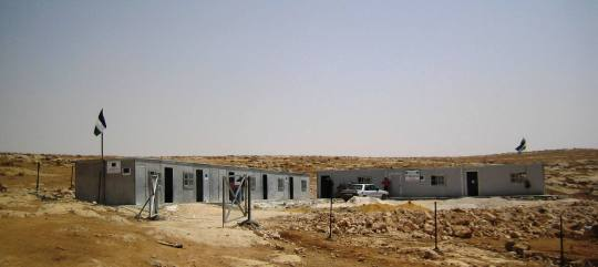 The new school in the West Bank village of Shi'b al Butun. Photo:EAPPI/ E.Brightwell