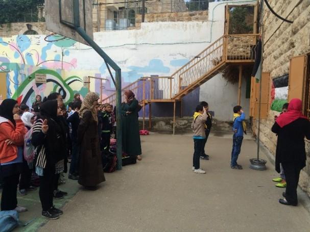 ADD IMG_4971 [EAPPI/I.STOLPESTAD] 'Cordoba School children during morning assembly'