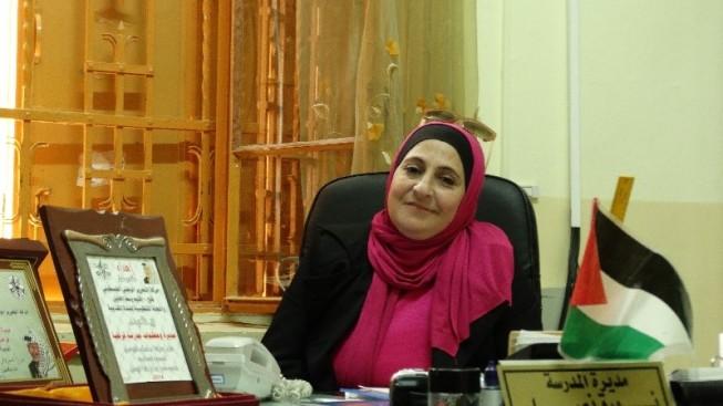 ADD DSC_00958 [EAPPI/H.GRIFFITHS] 'The headmistress of Cordoba School, Nora Nasser'