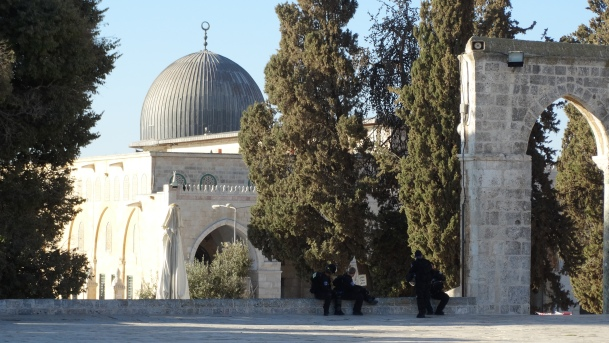 28.9.15 Al Aqsa mosque  Photo EAPPI H.Griffiths