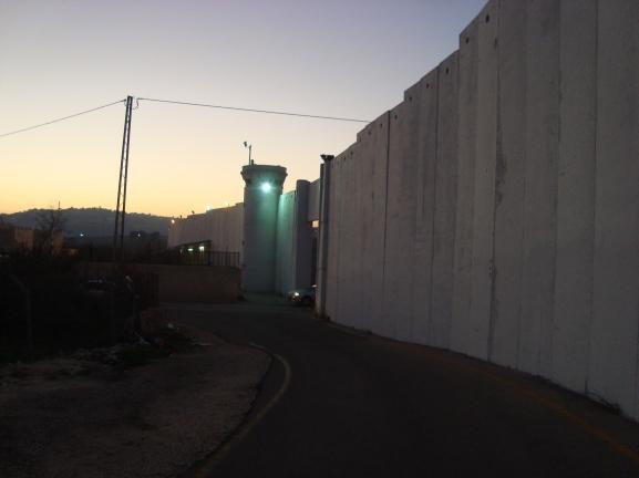 0 12.2.2016. Bethlehem, CP300. Photo EAPPI. A.Lie.