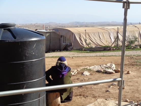 Eidh gazing over the Negev