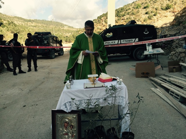 1-Beit Ouna prayer EAPPI Olivera D.