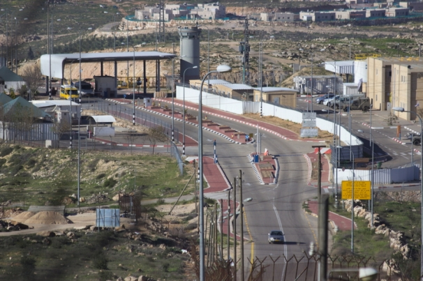 29.02.2016 Checkpoint EAPPI A. Lopez