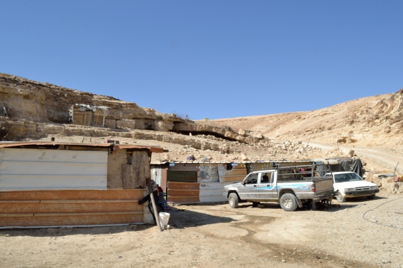 20-04-16 Rashayida The Bedouin community structures all served with demolition order EAPPI K Fox