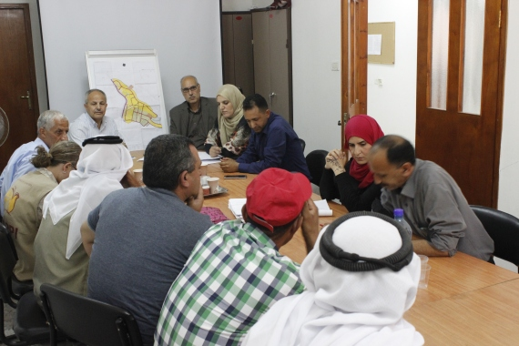 26-04-2016 Bethlehem The consultation on the Kisan village master plan EAPPI A Lopez