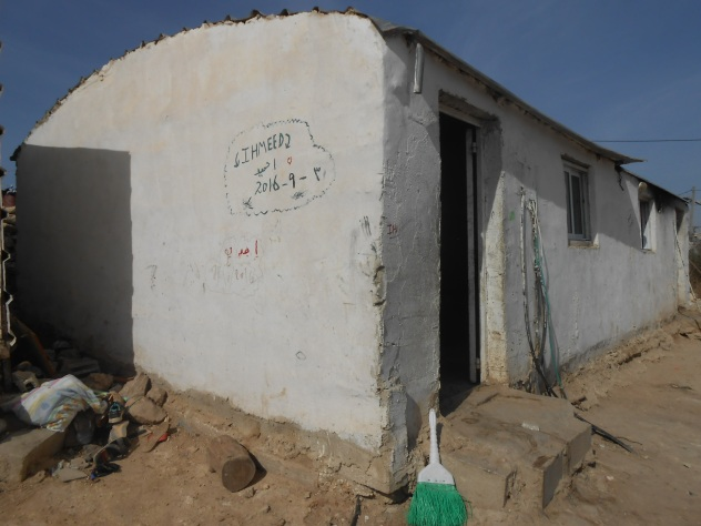 This house is where Hamid's family lives, the only home he has ever known. Photo:EAPPI/Liz