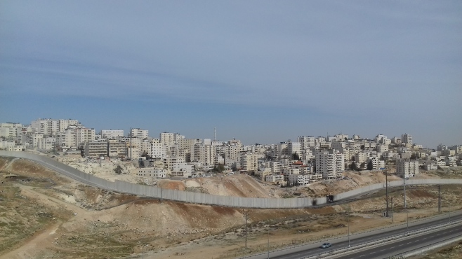 Shu'fat refugee camp area