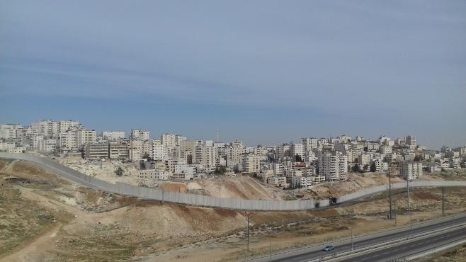 Shu'fat refugee camp area