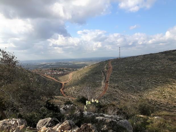 Settlement road construction. Photo: EAPPI/John