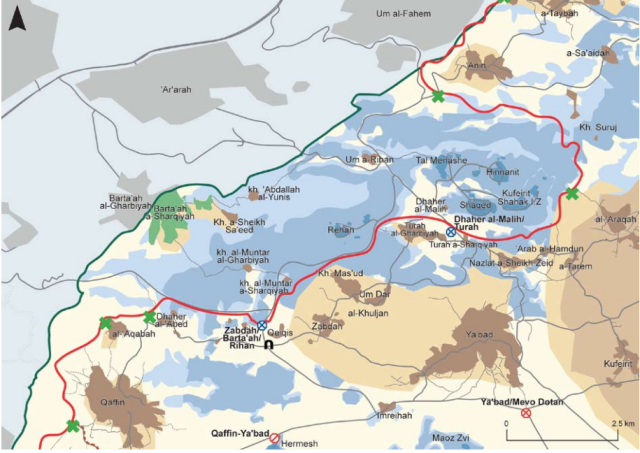 Bartaa map