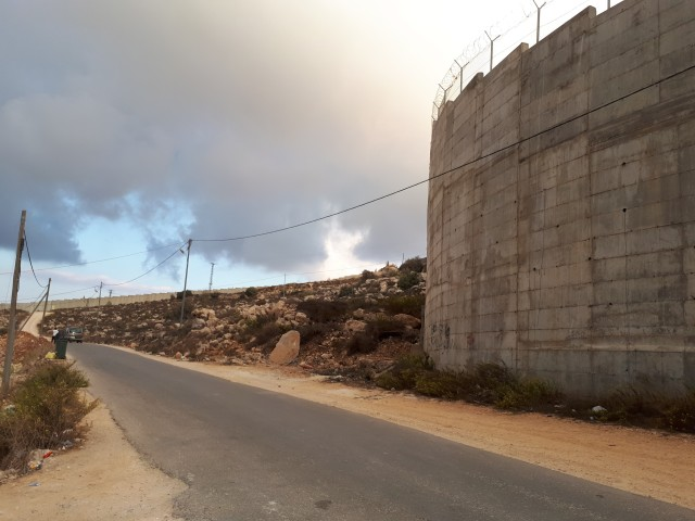 blog 3 The wall running through Al Walaga