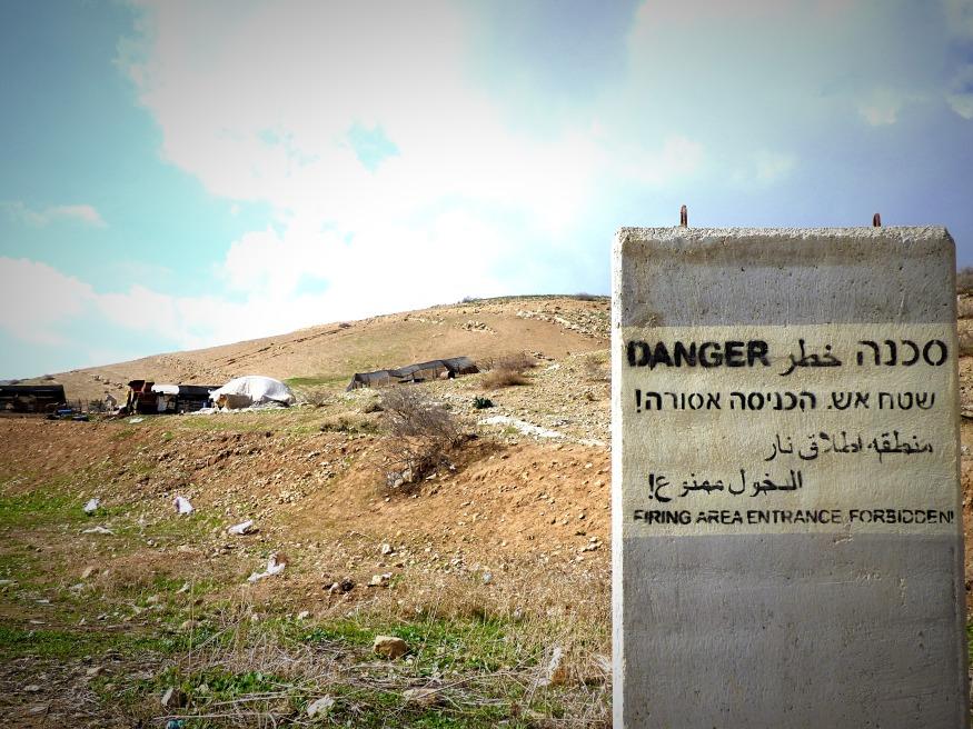 16-01-2018 Ein al Hilwa Wadi al Fow Firing Zone EAPPI E Pritchard (1)