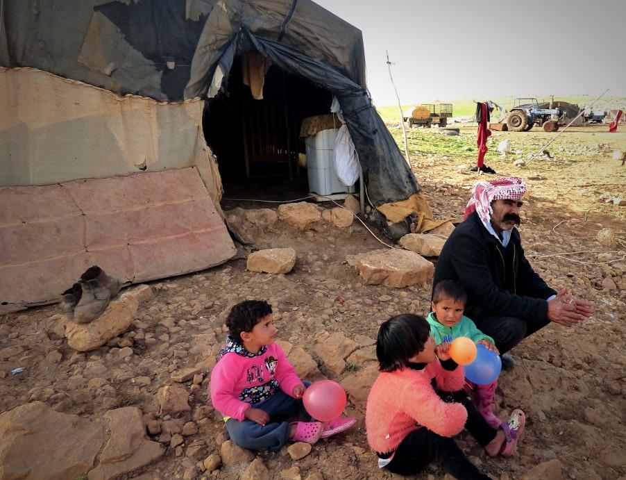 22-01-2018 Khirbet Samra Yasser Abu Aram EAPPI (1)