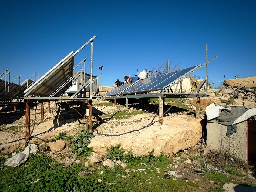 060318 Susiya Solar Panels 2 Photo EAPPI RClarke