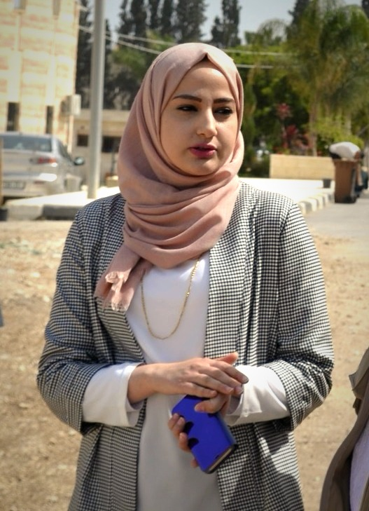 Samah International Relations Officer Tulkarm University Photo EA Lisa (1)